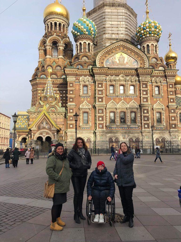St. Petersburg Rullestolreiser